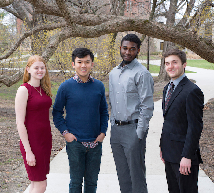2017 Iowa State University Goldwater Scholars